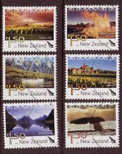 NEW ZEALAND 2004 TOURISM SET OF 6 FINE USED