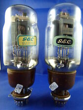 Matched Pair KT66 GEC # near NOS # legendary tubes # BOTTOM-OO-GETTER (7137c)