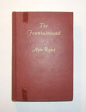 THE FOUNTAINHEAD Ayn Rand, 1943 1st Edition, 2nd State, All Errors/Issue Points