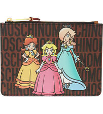 Moschino Couture Jeremy Scott Super Mario Princesses Peach Daisy&Rosalina CLUTCH