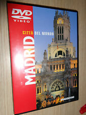 DVD CITTA' DEL MONDO MADRID SPAGNA + GUIDA DI 49 PAGINE