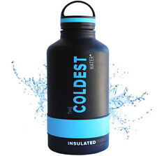 The Coldest Water 64 oz Bottle Stainless Steel Double Walled Sports Bottle