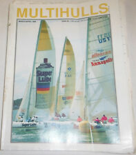 Multihulls Magazine Dodging Hurricane Dovi March/April 1989 072814R