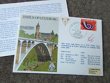 ESCAPE  from LUXEMBOURG  1973  Hand Signed  RAF Escaping Society FDC - SEE PICS
