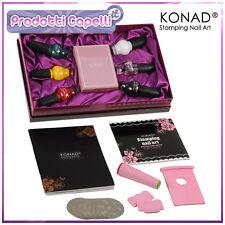 KONAD NAIL ART KIT CLASSIC PER STAMPING SMALTO UNGHIE RICOSTRUZIONE DISCHI