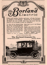 1913 AD BORLAND GRANNIS CO ELECTRIC MOTOR VEHICLE EXIDE BATTERY