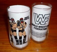 AX & SMASH Of DEMOLITION Rare MINT/New/Unused Glass Case Fresh! WWF WWE 1990 Vtg