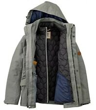 $298 NWT TIMBERLAND MEN'S 3-IN-1 WATERPROOF FIELD JACKET Hooded A1AIF433. SZ:M