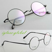 44mm Pure Titanium Eyeglasses frames Round Eyewear Spectacles Glasses optical