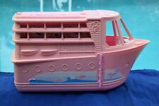 Vintage Pink Barbie Cruise yacht