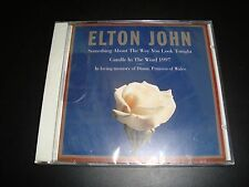 Elton John Something About the Way You Look Tonight / Candle in the Wind New