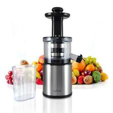 NEW NutriChef PKSJ30 200 Watt Kitchen Vegetable Fruit Countertop Slow Juicer
