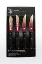 San Francisco 49ers Steak Knife Set - 4 Pack [NEW] NFL  Chef Kitchen Knives