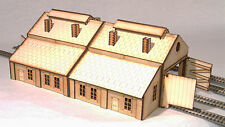 ES005 Engine Shed and Workshop Multipack OO Gauge Laser Cut Kit