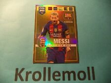 Adrenalyn XL FIFA 365 Premium Gold Limited Edition Lionel Messi Panini 2017