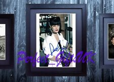 PAULEY PERRETTE ABBY NCIS SIGNED FRAMED & MOUNTED 10x8 REPRO PHOTO PRINT