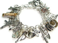 The Walking Dead Zombie Survival Charm Bracelet Zombie Apocalypse Walkers