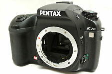 Pentax K20D 14.6MP digital SLR camera body *black *immaculate *warranty