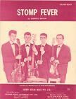 The Denvermen-Stomp Fever-1960's Australian issue Piano Solo Sheet Music-Scarce