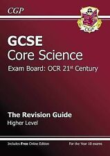 GCSE Core Science OCR 21st Century Revision Guide - Higher (with Online...