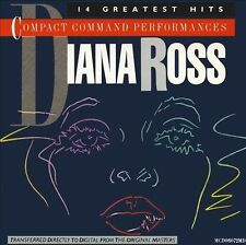 Compact Command Performances by Diana Ross (CD, 1983, Motown)