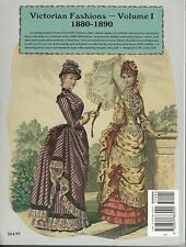 Two Victorian Fashion's Volume 1 & 2  P/O Doll Patterns Clothes Sewing Crafts