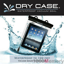 GENUINE DryCase Vacuum Seal Waterproof Bag Dry Case + Strap for Apple iPad 4 3 2