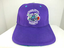 Charlotte Hornets NBA 90s Rare Retro Vintage Snapback Cap Hat New By TWINS ENT.