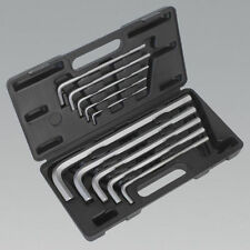 Sealey Tools Jumbo Hex Allen Key Set 10pc Extra Long Metric 3mm - 17mm