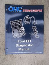 1996 OMC Stern Drive Ford EFI Diagnostic Manual NC Marine Engine TFI-IV Boat  S