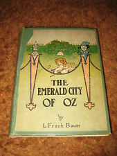 THE EMERALD CITY OF OZ - 1918 - 1st Edition, 4th State