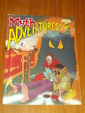 MYTH ADVENTURES #1 MARCH 1984 WARP GRAPHICS US MAGAZINE~