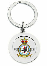 ROYAL AIR FORCE 3 REGIMENT SQUADRON KEY RING (METAL)