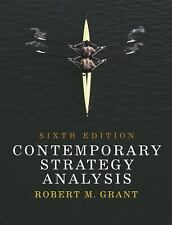Contemporary Strategy Analysis, Robert M. Grant, Very Good Book
