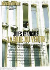 Coupure de presse Clipping 2006 (5 pages) Juifs Francais Rage au Ventre