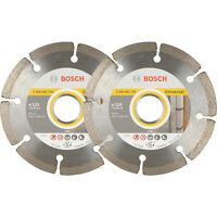 2Pack Bosch Angle Grinder Diamond Cutting Blades 115mm 061599749J 3165140704939