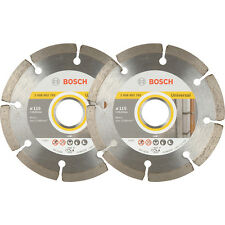 2-Pack Bosch Angle Grinder Diamond Cutting BLADES 115mm 061599749J 3165140704939