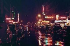 52ND STREET NEW YORK, NEW YORK 1948 PHOTOGRAPH colorful poster LIGHTS 24X36