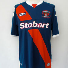 CARLISLE UNITED FC (L) 2012/13 BLUE/RED HOME S/SLVE SOCCER FOOTBALL SHIRT JERSEY