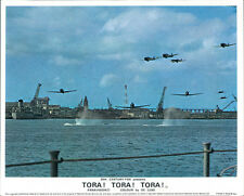 TORA! TORA! TORA! JAPANESE AIRPLANES ATTACK PEAR HARBOR LOBBY CARD ORIGINAL