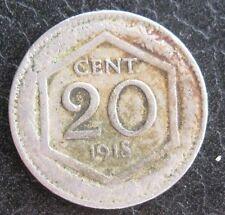 20 Centesimi Regno dItalia Esagono 1918 - BB bordo liscio - n. 1056
