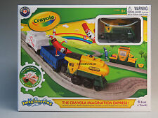 LIONEL CRAYOLA IMAGINATION EXPRESS IMAGINEERING TRAIN SET little lines 7-11559