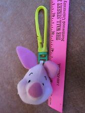 Winnie the Pooh Piglet plush Clip-On Backpack Keychain Stuffed Animal FREE SHIP