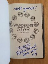 SIGNED & Taglined - Zodiac: Wandering Star 2 by Romina Russell HC 1st