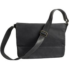 New with Tags Moore and Giles Sackett Messenger Bag Black MSRP $ 610