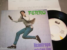"7"" - Ferro / Licantropo & Mister Jim - MINT PROMO First Press Italy # 2940"
