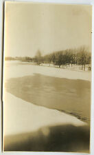 PHOTO ANCIENNE - LAC DÉGEL NEIGE GLACE CURIOSITÉ - LAKE SNOW - Vintage Snapshot