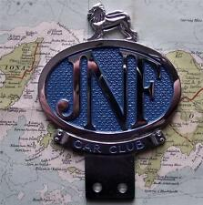 Old Vintage Car Mascot Badge  : Jewish National Fund JNF Car Club