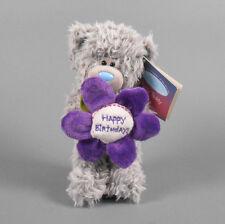 "ME TO YOU 6"" Gray Tatty Teddy Bear Happy Birthday Flower Douglas Cuddle Toys"