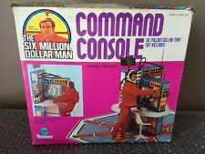 Vintage 1976  Kenner The Six Million Dollar Man Command Console With Insert Look